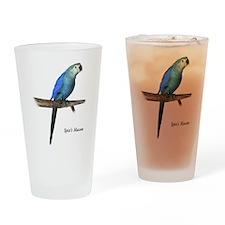 Spix's Macaw Drinking Glass