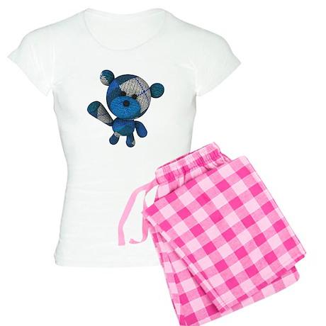 Stuffed Bear Women's Light Pajamas
