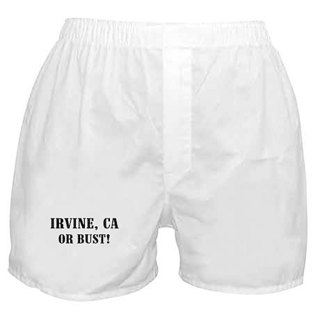 Irvine or Bust! Boxer Shorts