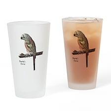 Bourke's Parrot Drinking Glass