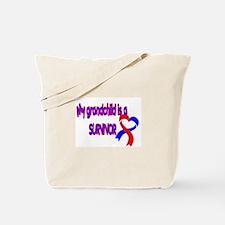 grandchild_CHD_Survivor Tote Bag