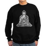 Meditating Buddha Sweatshirt (dark)