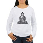 Meditating Buddha Women's Long Sleeve T-Shirt