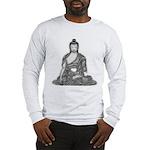 Meditating Buddha Long Sleeve T-Shirt