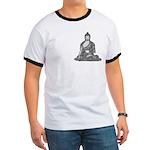 Meditating Buddha Ringer T