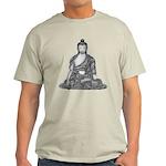 Meditating Buddha Light T-Shirt
