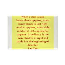 Lao Tzu Rectangle Magnet