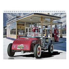 Hot Rod Wall Calendar Convertibles 2