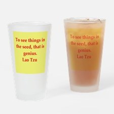 Lao Tzu Drinking Glass