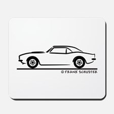 1967, 1968, 1969 Camaro Mousepad