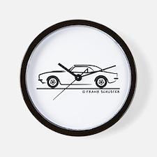 1967, 1968, 1969 Camaro Wall Clock