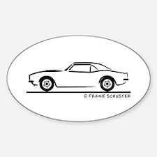 1967, 1968, 1969 Camaro Decal