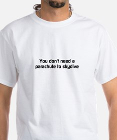 Parachute to Skydive T-Shirt (white)