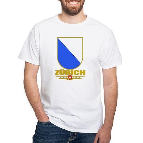 Zurich White T-Shirt