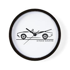 Chevrolet Camaro Convertible Wall Clock