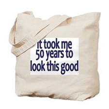 Cute Over the hill 50 Tote Bag