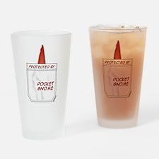 Pocket Gnome Drinking Glass