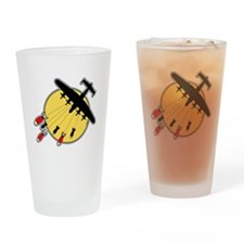 WWII Bombs Drinking Glass