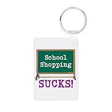 School Shopping Sucks! Keychains