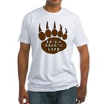 Bear Paw Fitted T-Shirt