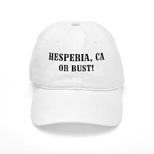 Hesperia or Bust! Baseball Cap