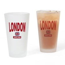 London England Drinking Glass