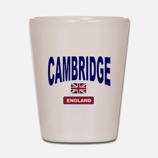 Cambridge England Shot Glass