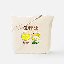Coffee Humor Tote Bag