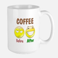 Coffee Humor Large Mug