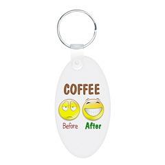 Coffee Humor Keychains