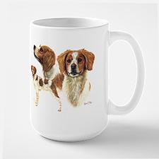 Brittany Spaniel Large Mug