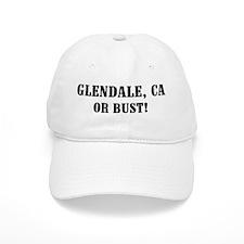 Glendale or Bust! Baseball Cap