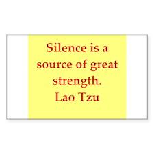 Lao Tzu Decal
