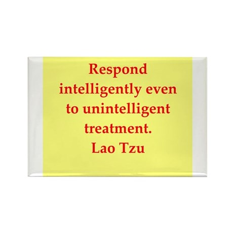 Lao Tzu Rectangle Magnet (10 pack)