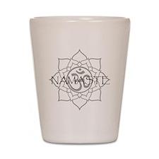 Namaste Om Shot Glass
