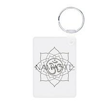 Namaste Om Keychains