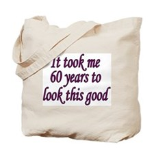 Cute 60 years Tote Bag