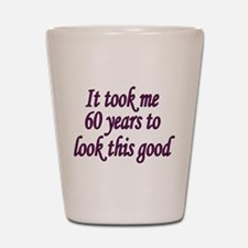 Unique 60 years old Shot Glass