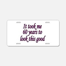 Cool Years Aluminum License Plate