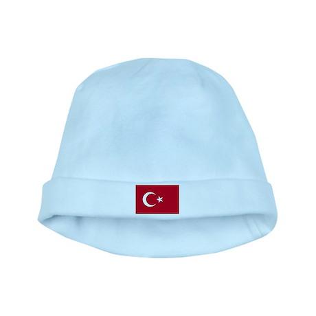 Turkish Flag baby hat