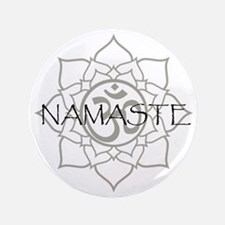 "Namaste Om 3.5"" Button (100 pack)"