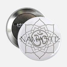 "Namaste Om 2.25"" Button"