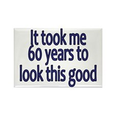 60yrs_mens_dark_blue Magnets