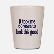 Cute 60 years old Shot Glass
