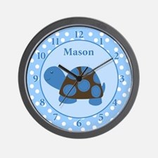 Mod Turtle Wall Clock - Mason