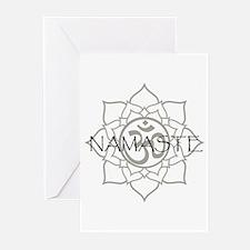Namaste Om Greeting Cards (Pk of 20)