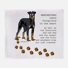 Manchester Terriers Throw Blanket