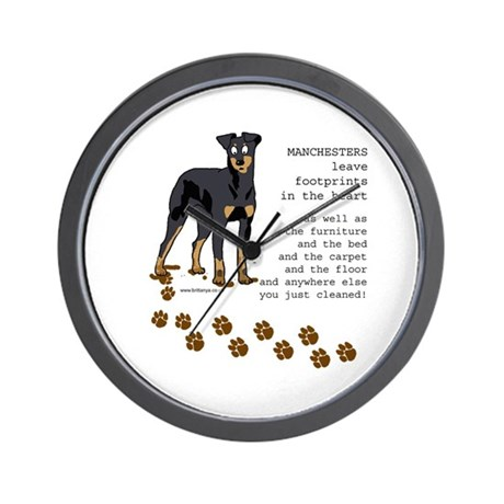 Manchester Terriers Wall Clock