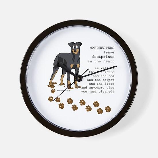 Manchester Terriers Wall Clock