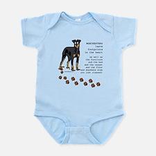 Manchester Terriers Infant Bodysuit